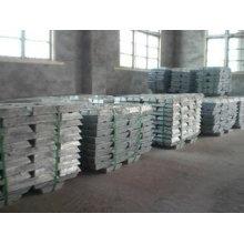 99,99% 99,995% de lingote de zinco puro