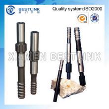 Barras marcantes e adaptador de haste para a haste de extensão da extremidade