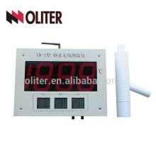wk-200a instrument de marquage d'indicateur de température analogique / numérique sans fil avec thermocouple jetable pour acier en fusion