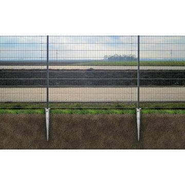 Vis à terre HDG pour clôture et porte