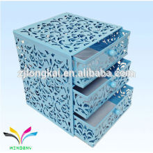 Multi-line office box file racks with drawer customized accepted with logo
