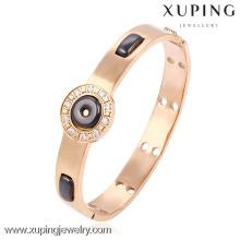 51499- Xuping brazalete de cerámica de aleación de acero inoxidable y brazalete de joyería