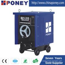 Máquina de solda de arco AC Máquina de soldadura de transformador de alumínio Bx1-200 / 250/315/400/500 630