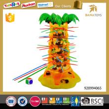 Engraçado macacos jogos crianças brinquedos educativos