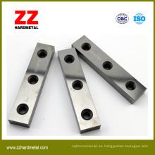 Utilizado para la carpintería Campo Partes de desgaste de carburo de tungsteno