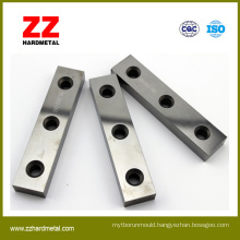 Used for Woodworking Field Tungsten Carbide Wear Parts