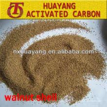 filtro de cáscara de nuez para eliminar las impurezas de aguas residuales