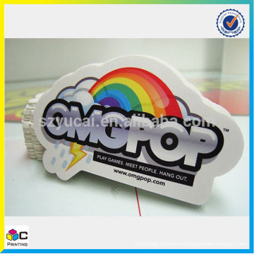 China supplier custom round sticker printing and waterproof vinyl sticker printing