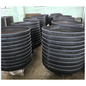 carbon steel dish head for equipment and transportation