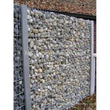 Deutschland Markt 100x100x30cm Galvanisierte geschweißte Gabions-Wand