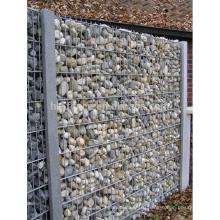 Рынок Германии 100x100x30cm оцинкованной Сварной Габионных стен