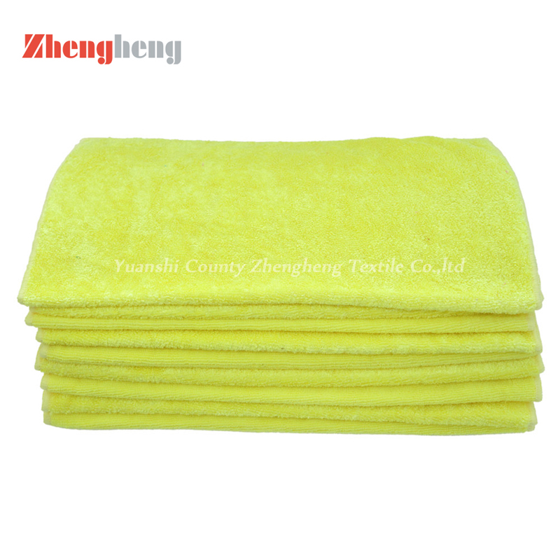 High and Short Loops Microfiber Towels (4)