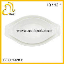 10/12 INCH SOUP PLATE; MELAMINE PLATE