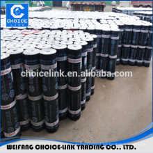 SBS modified bitumen roll waterproof membranes