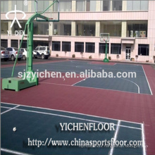 Outdoor tennis court rubber mat multifunctional sports rubber mats