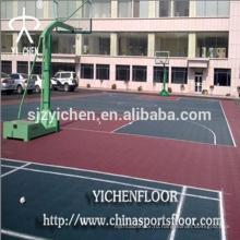 Открытый теннисный корт резиновый коврик многофункциональные спортивные резиновые коврики