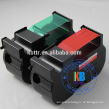 Compatible feature pitney Bowes B700 B767 fluorescent red ribbon cartridge