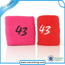 Custom Trendy Logo Design Debossed Wristband for Girls