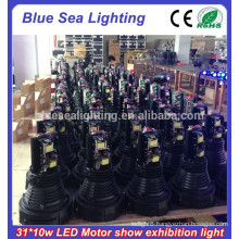 31x10w led car show lights