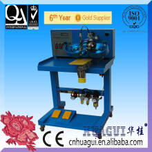 HUAGUI single head two color diamante transfer machinery used in cap