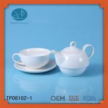 Pote do chá para a venda, potenciômetro cerâmico do chá turkish, jogo de chá cerâmico
