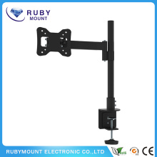 Black Desk Mount Touch Screen LCD TV Mount