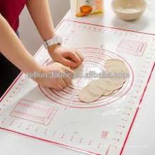 Alfombra de silicona de calidad superior al por mayor con alfombra de silicona de silicona de silicona de impresión de impresión personalizada con medidas