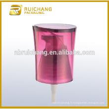 Distributeur de pompe à lotion en plastique avec surcharge AS