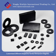Customized Different Shapes for Ferrite Permanent Magnets