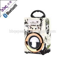 BBQ speaker 2018 LED screen Small sound box speaker bluetooth karaoke speaker