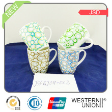 Multicolor High White Parcerlain Mug with Decal