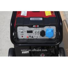 Conjunto de gerador de gasolina portátil com poupança de combustível com peças sobressalentes