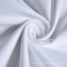 Wholesale Plain white 180 Fadenzahl 100% Baumwollgewebe mit Rollenverpackung