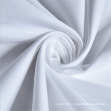 Wholesale Plain white 180 thread count 100% cotton fabric with roll packaging