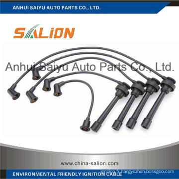 Câble d'allumage / fil d'allumage pour Mitsubishi Jeep (MD-973163)