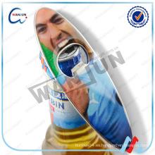 Abridor de botella magnético a granel barato / tablero que practica surf Abrelatas baratos de la botella a granel