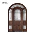 Modèles de porte en bois massif de bonne qualité avec porte à deux battants