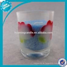 Billig einzigartige Großhandel Glas Duftkerze