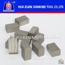 Высокая эффективность камень Алмазный сегмент для гранита резки