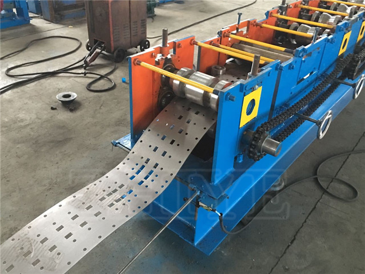 Hydraulic Storage Rack Upright Shelf Roll Forming Machine