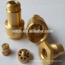 Precision CNC lathe and milled Brass parts