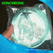 Nebulizer Mask with Chamber and Tubing, Oxygen Mask with Tube