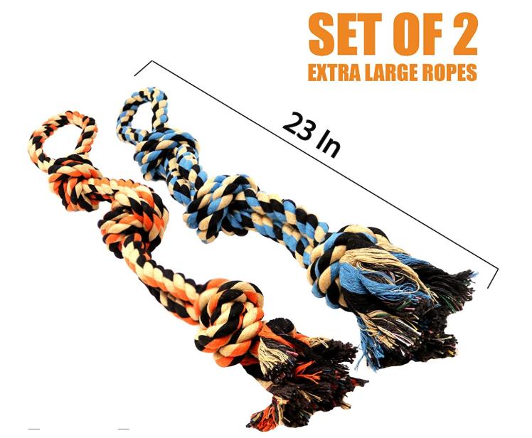 Heavy Duty Pet Rope Toys