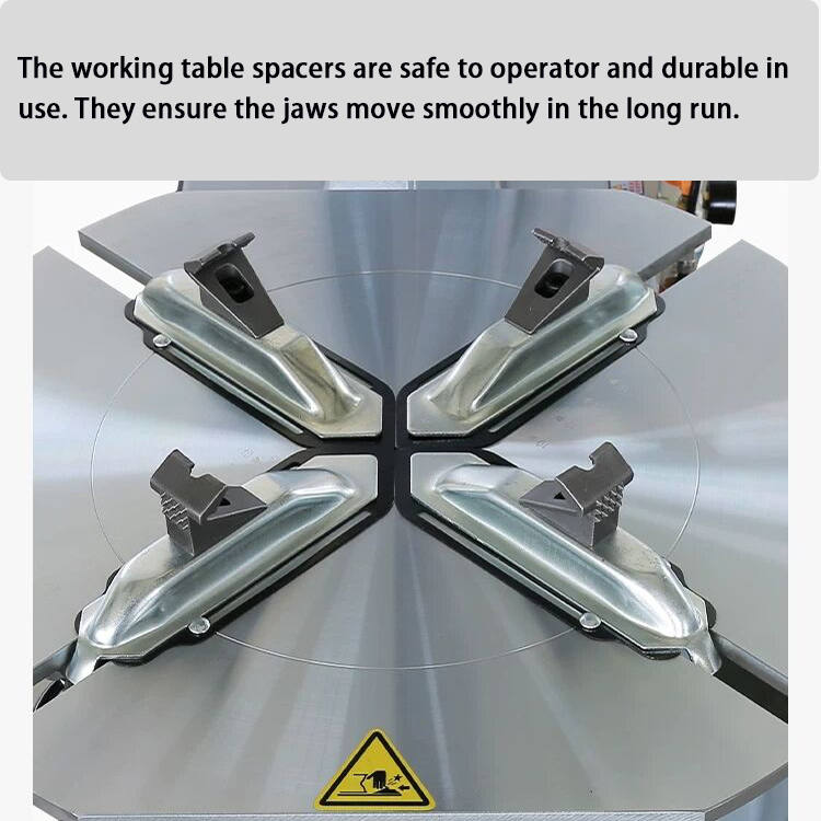 tire changer clamps