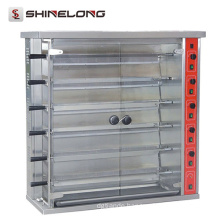 Commercial Stainless Steel Vertical Rotisserie Oven 15/30 Chicken Gas/electric Rotisserie Oven