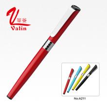 Caneta de assinatura colorido melhor presente gravar caneta de rolo em venda