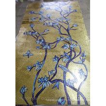 Mosaïque en or de mosaïque artistique pour la décoration murale (HMP801)