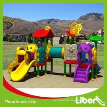 Hochwertige Outdoor-Spielplatz Plastik Kinder spielen Boden (LE.QS.018)