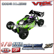 1/8 Nitro RC buggy car