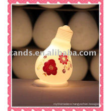 Bulb Design Lighted Holiday Window Decoration Lamp